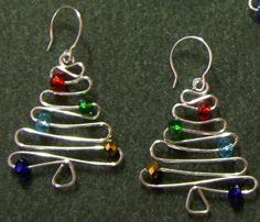Sooo simple and so pretty with beads/crystals. I'm making these for seasonal gifts and better get started soon!