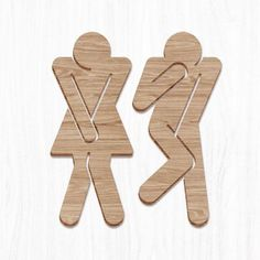 PIPPI + PEPPONE WC- This one is funny and simple yet millin this would take only a minute Woodworking Plans, Woodworking Projects, Wood Crafts, Diy And Crafts, Creation Deco, Cnc Projects, Diy Holz, Scroll Saw Patterns, Wood Design