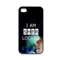Custombox Sherlock Pattern Plastic Hard Case Cover for iPhone 4/4S – USD $ 3.99