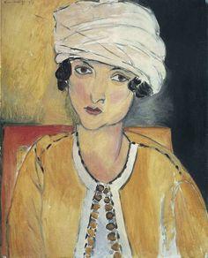Henri Matisse - Lorette with Turban, Yellow Jacket, 1917 - National Art Gallery Washington DC