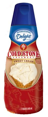 Cold Stone Creamery Coffee Creamer. This is the best coffee creamer I've ever had.