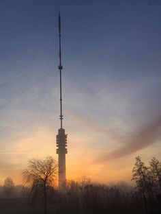 January 1, 2016 - the radio/TV tower in the morning Photo: Annemarie Lucas