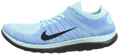 Amazon.com: Nike Women's Free 4.0 Flyknit White/White/Black/Volt Running Shoe 8 Women US: Shoes