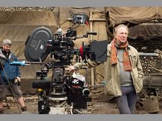 "2014 - Alan directing ""A Little Chaos""."