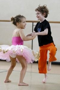 Dancing affords children with opportunity to express them self through movement and creative art forms. Children can make new friends through dancing classes while having fun and exercising.