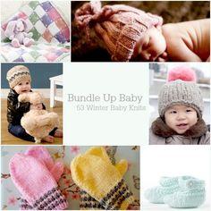 Bundle Up Baby: 53 Winter Baby Knits | AllFreeKnitting.com