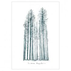 BLUE FOREST. Reproducción digital firmada y seriada de #lauraagusti. Medidas:29,7x21 cm./ 40x29,7 cm #print #ilustration #ilustracion #dibujo #drawing #Art #Barcelona