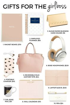 Holiday Gift Guide | Christmas Gift Guide | Gift Ideas For The Girl Boss | Holiday Gift Ideas For Her