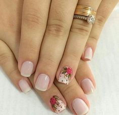 How To Do Nails, Fun Nails, Nail Logo, Manicure E Pedicure, Pretty Nail Art, Gorgeous Nails, Nail Trends, Simple Nails, Spring Nails