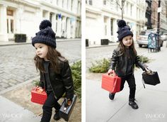 Mini Me: Maia Leung Shows Us How To Rock The Season's Most Playful Bags | Mark Cross Box Bags