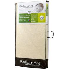 Matelas bébé bambou déhoussable 60 x 120 cm Bellemont
