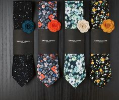 Grand frank tie & pins