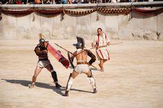 Gladiateurs Grands Jeux Romains Nîmes