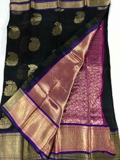 Pure Kanchi organza sarees Order what's app 7995736811