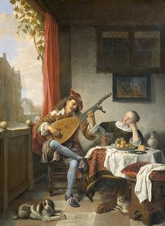 The Lute Player, by Hendrick Sorg