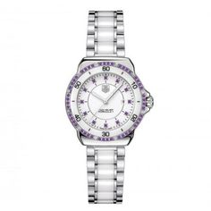 COMING FALL 2013: Tag Heuer FORMULA 1 Steel and Ceramic Watch- Amethyst