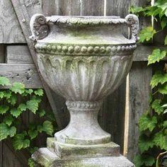 garden urn and pedestal - Google Search