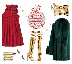 """""""Merry Christmas Polypals !"""" by dorinela-hamamci ❤ liked on Polyvore featuring Nieves Lavi, Christmas, MerryChristmas, christmasparty and polyvoreditorial"""