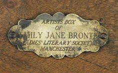 Women Writers: How Was the Writing of New England's Emily Dickinson Different From England's Emily Bronte? Emily Bronte, Charlotte Bronte, Bronte Parsonage, Bronte Sisters, Emily Dickinson, Box Art, Auction, England, Writing Desk