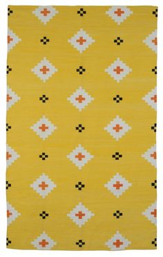 love this pattern | yellow + black