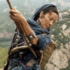 "If action's your thing, then the Chinese-Hong Kong martial-arts epic ""True Legend"" is your movie. Michelle Yeoh, Martial Arts Movies, Martial Arts Women, Martial Artists, Bond Girls, Kung Fu Movies, Romantic Comedy Movies, Women Names, Badass Women"