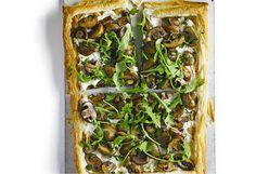 Mushroom, ricotta & rocket tart   Foodiful