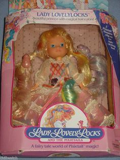 Lady Lovely Locks Doll in box