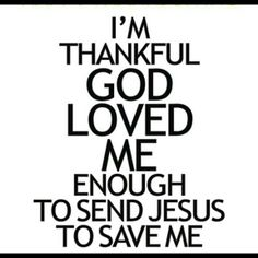 Thank you Father for Loving me!