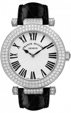 watch: diamonds & roman numerals: franck muller ronde