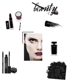 Black beauty by pavlinap on Polyvore featuring polyvore beauty Urban Decay Rodial Narciso Rodriguez