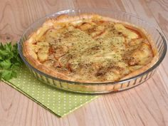 Receta | Tarta salada de tomate y emmental - canalcocina.es