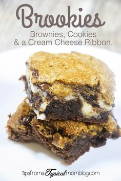 Brookies are one of my favorite desserts to make because you get two delicious treats in one. Brownies and Chocolate Chip Cookies. These are even better than Brookies because they have a ribbon of Cream Cheese in the middle. You guys. These are to die for! I've made a video tutorial so you can see... Read More »