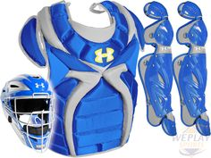 Under Armour ® Fastpitch Softball Catchers Gear Kit - Royal Blue