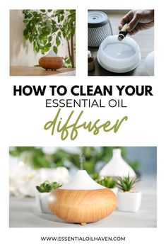 Follow these quick + easy diffuser cleaning tips to get your aromtherapy diffuser working again properly. If your essential oil diffuser is experiencing some hiccups, give these tips a try!    #diffusercleaning #cleandiffuser #diffusing #essentialoilhaven