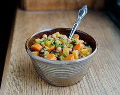 Slow Cooker Butternut Squash Coconut Chili