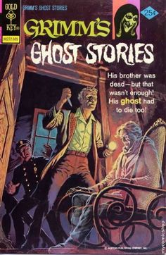 Grimm's Ghost Stories #23  Gold Key Comics  May 1975  $.25