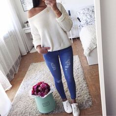 Ideas For Moda Adolescente Feminina Escola College Outfits, Outfits For Teens, Winter Outfits, Casual Outfits, Fashion Mode, Teen Fashion, Fashion Outfits, Fashion Ideas, Holiday Fashion