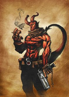 Hellboy by BrianFajardo on @deviantART