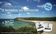 Promoção Mini Breaks 25 Abril e 1 Maio no Memmo Baleeira Hotel em Sagres desde 37,50€ PAX | Vila do Bispo | Portugal | Escapadelas ®