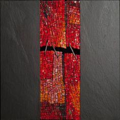 Great pattern for mosaic idea -Dino Maccini & Rosso Ardesia