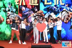 Cast from 'Railroad Tigers' hold press conference in Beijing  http://www.chinaentertainmentnews.com/2016/12/cast-from-railroad-tigers-hold-press.html
