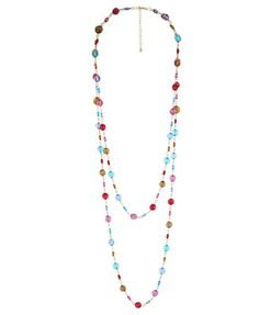 Colorful Bead Necklace - $6.80