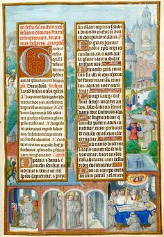 Anthony of Padua | Breviary | Belgium, Bruges | ca. 1500 | The Morgan Library & Museum