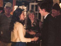 Rob on the set of Twilight