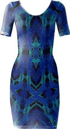 0000000P/Ice Melt Bodycon Dress
