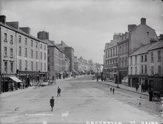 Barronstand St. 1890 National Archives, Dublin Ireland, Vintage Photos, Maine, Street View, Explore, History, Historia, Vintage Photography