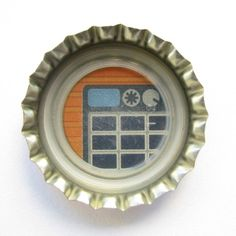 Coca-Cola Brasil promotional amp bottle cap.