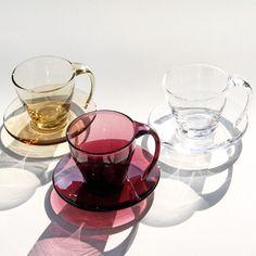 スガハラガラスのカップ&ソーサーBal'sTableノマ