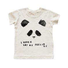 FEELINGS PANDA T-SHIRT – Kid + Kind