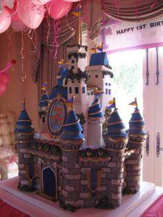 Castle cake by Sweet Lady Jane